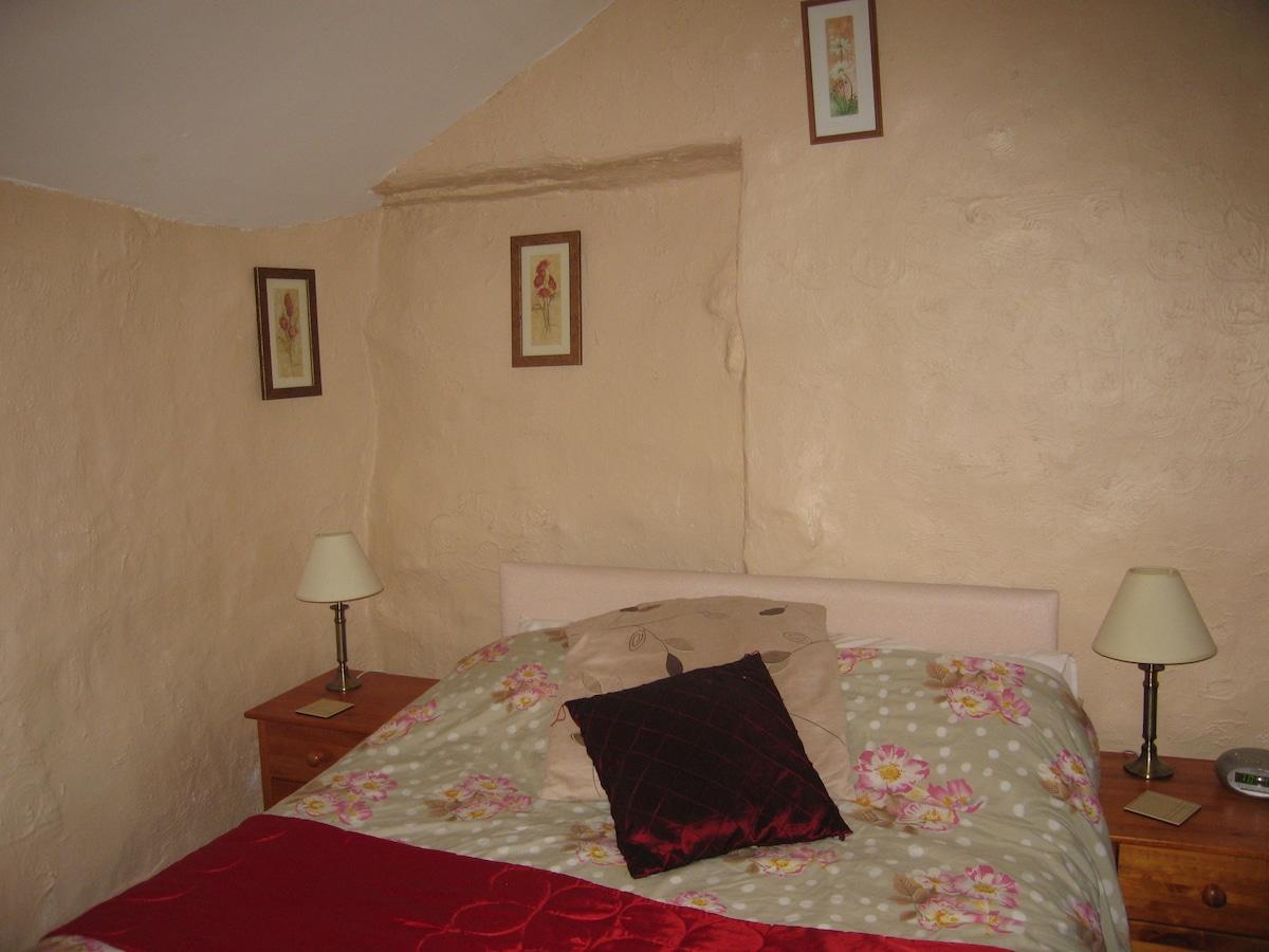 Our double en-suite room