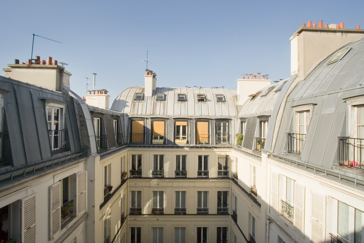 Chic and trendy Flat in Paris