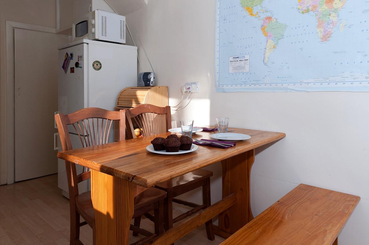 Breakfast / supper table