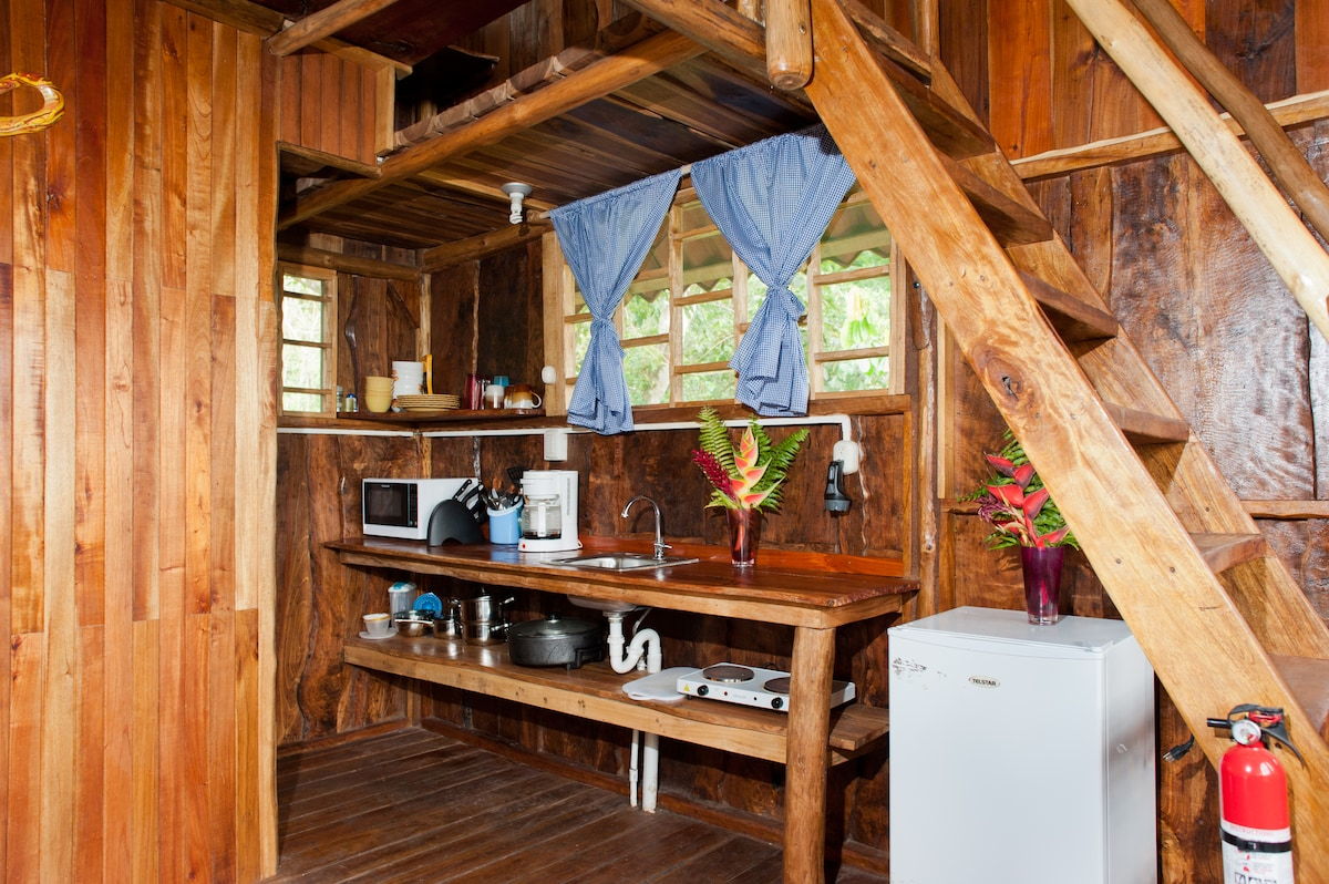 Tree House kitchen on the first floor