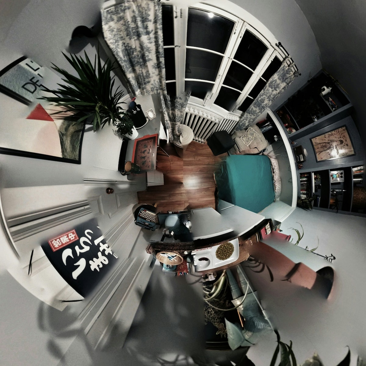 the sunroom: a 360degree Android panoramic photo lol