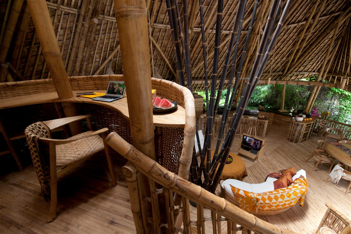Amazing 4 storeyBamboo Home byRiver