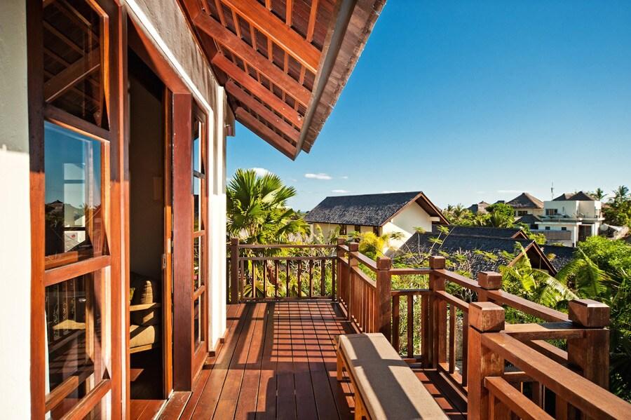 Balcony of the master bedroom