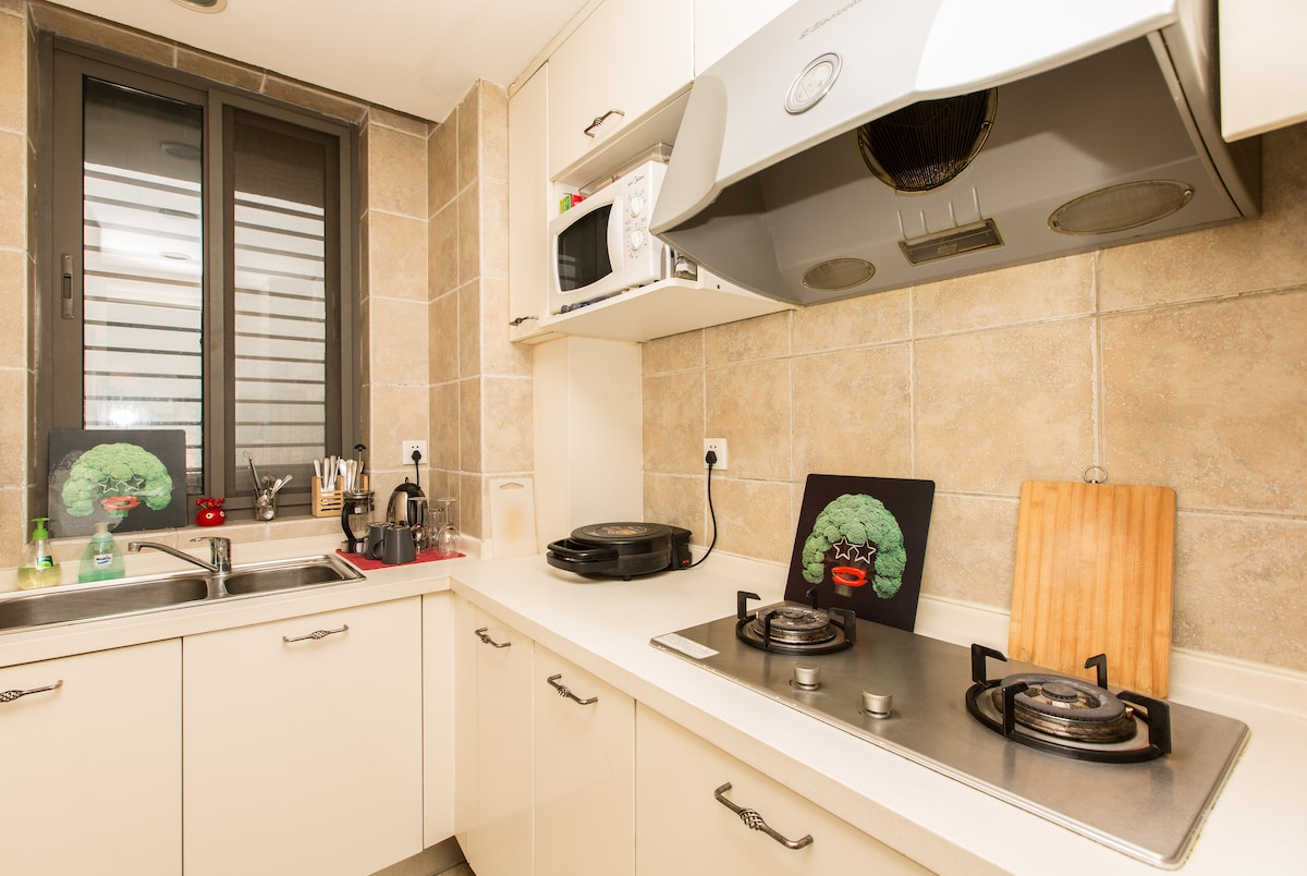 KITCHEN WITH EVERYTHING YOU NEED FOR COOKING