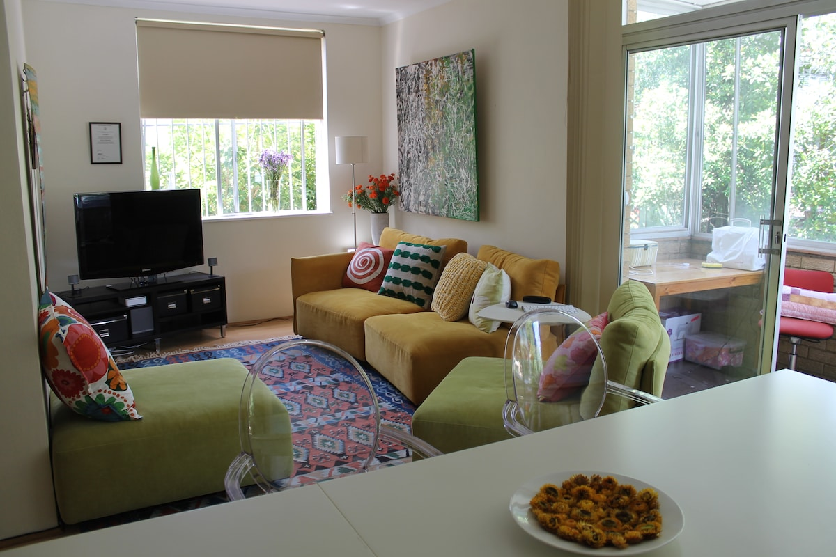 Lounge room sitting area