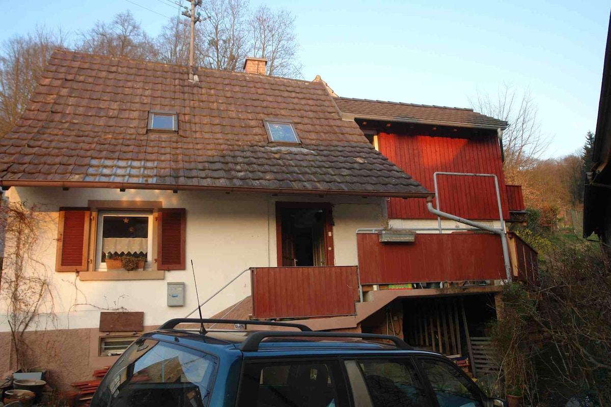 Land-house Heimbach near wilderness