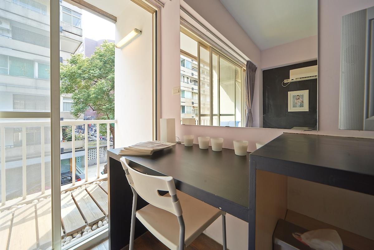 #1 Best Area in Taipei W/ Balcony!