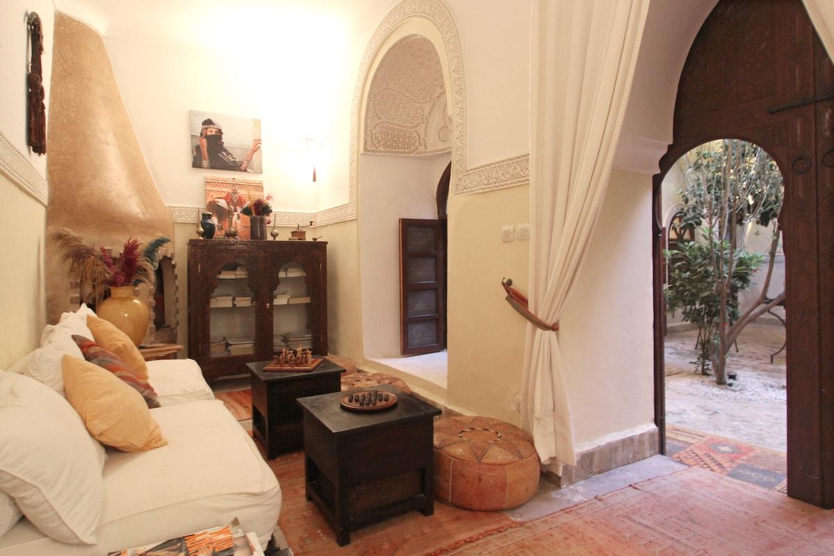 charming riad in Marrakech medina