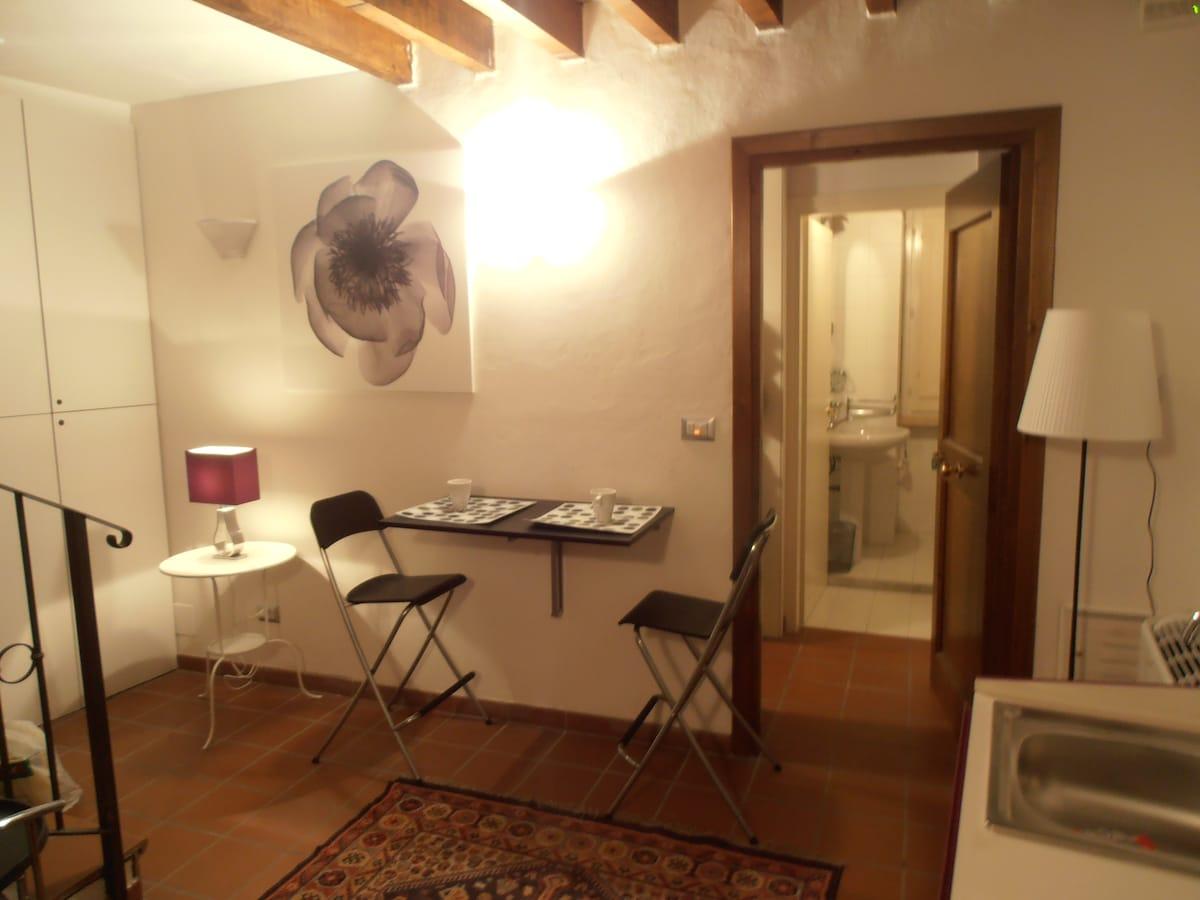 Ingresso/Soggiorno - Living Room