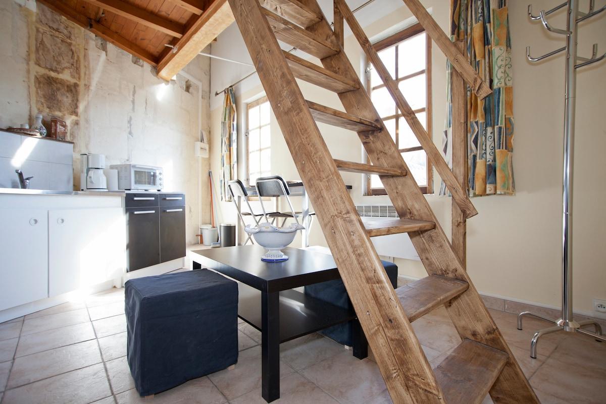 Duplex place Paul Doumer / Centre