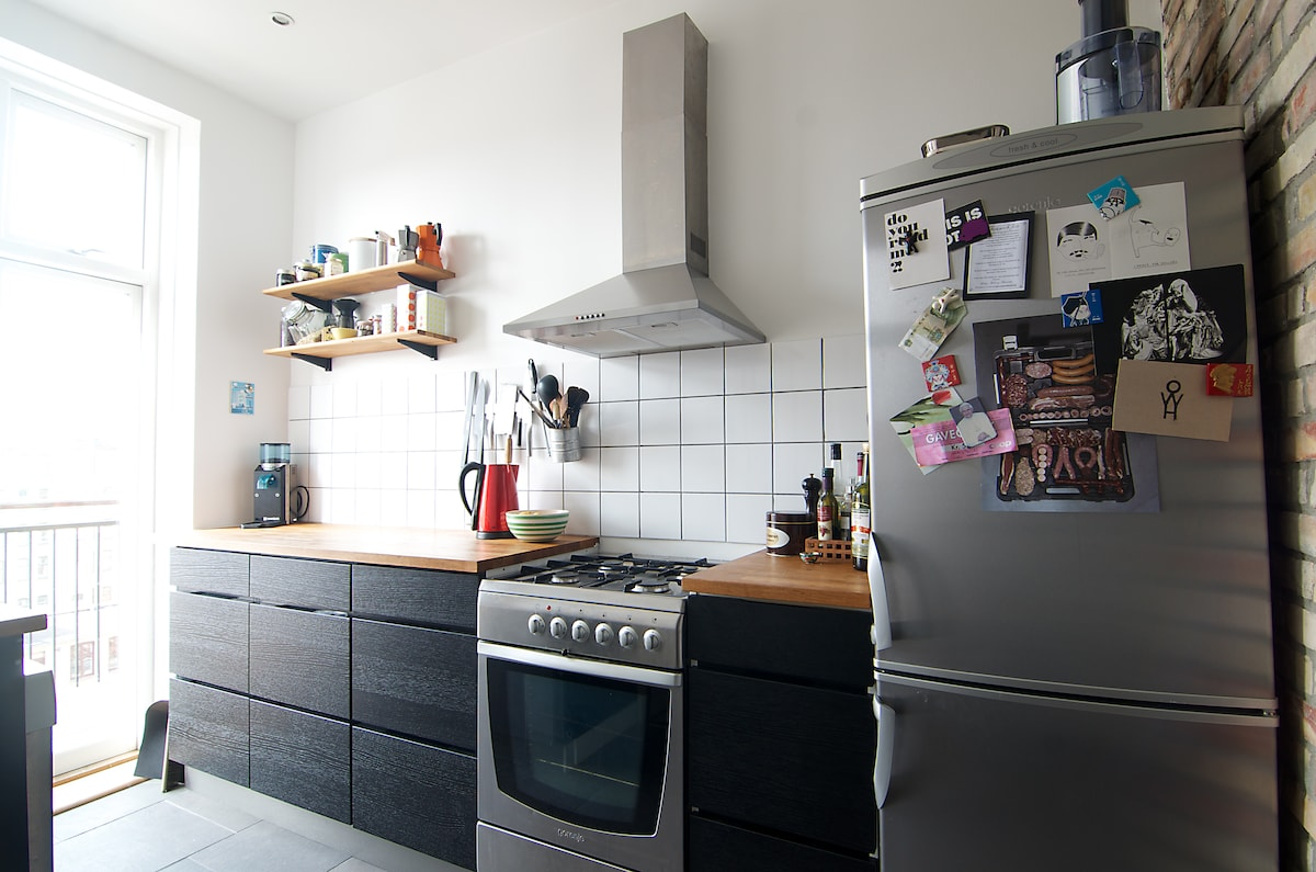 3rooms with balcony at Vesterbro