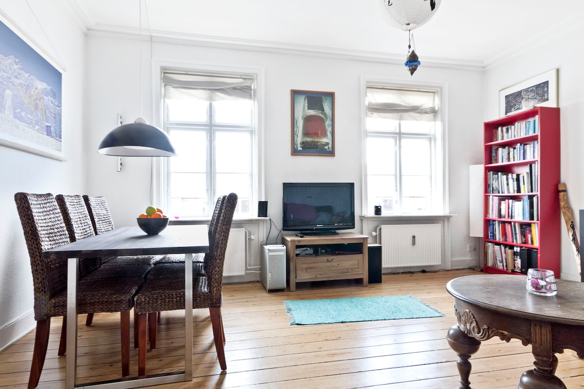 Cosy and chic Copenhagen apartment