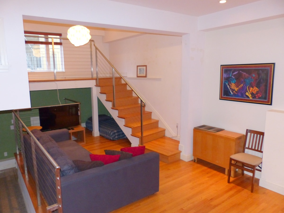 Beautiful Loft apartment, make it your home in San Francisco!