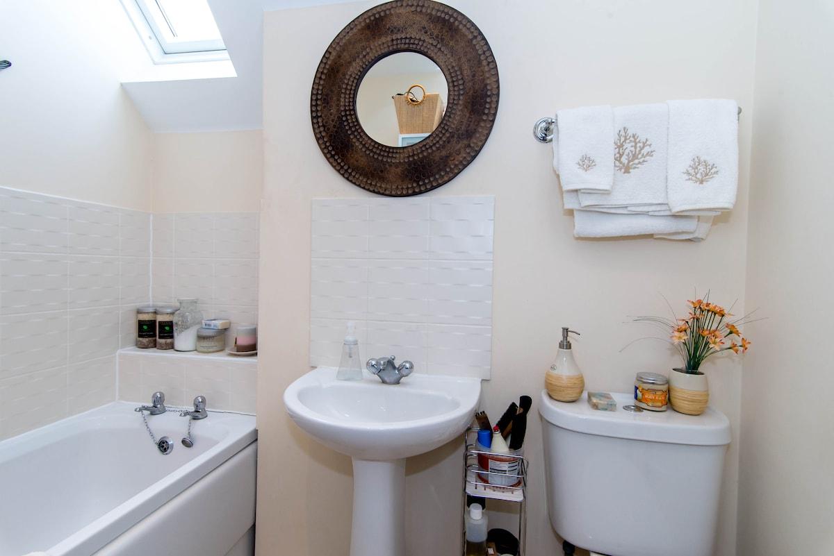 Single room private bath