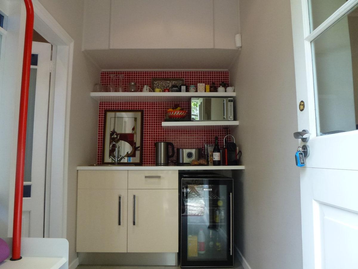Efficiency kitchen.