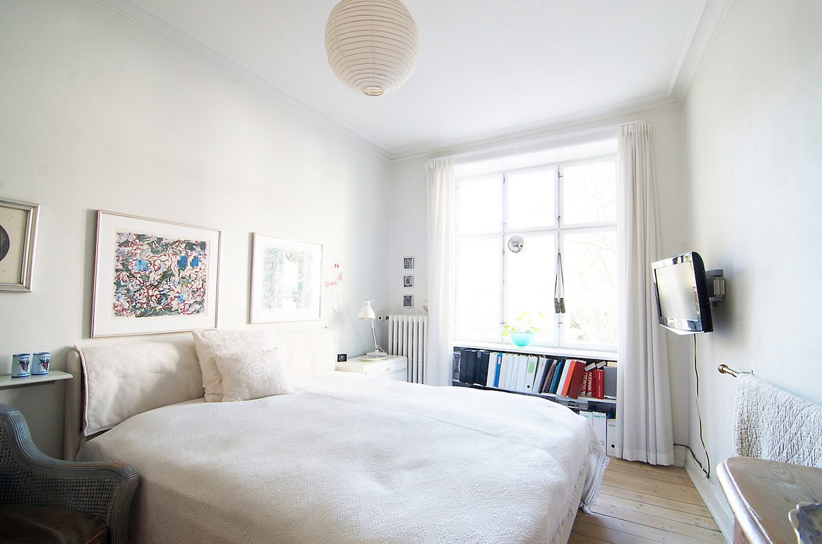 Single room (wifi) in classy Frederiksberg