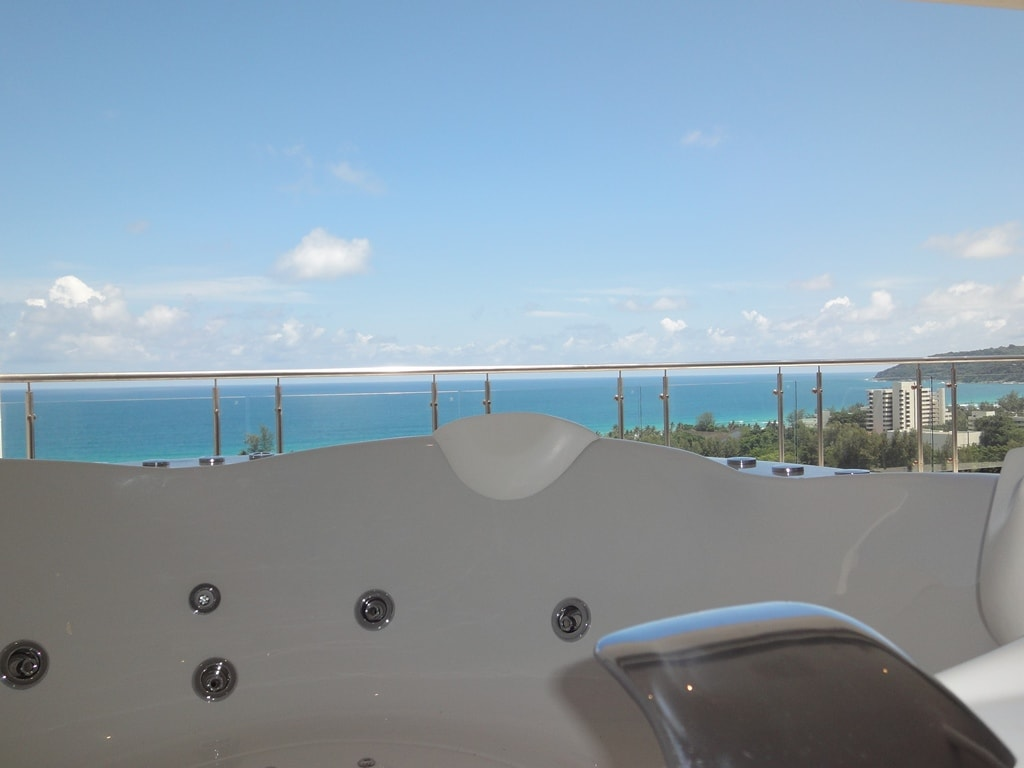 View from the Jacuzzi