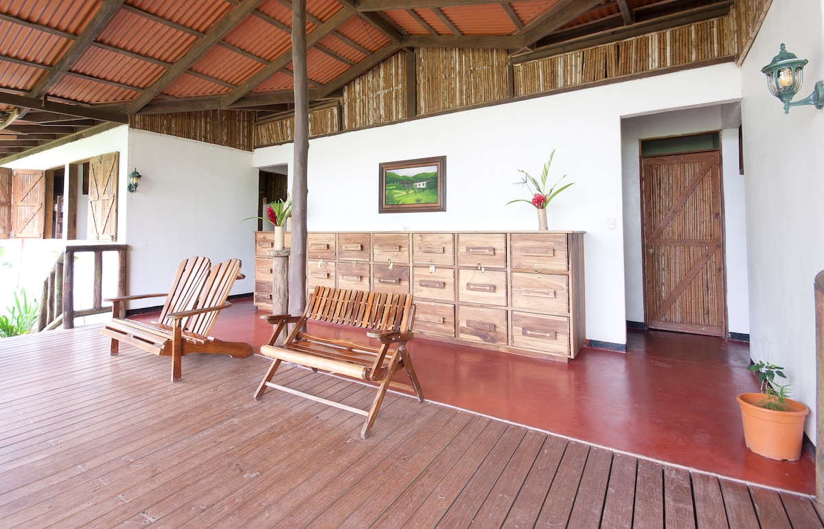 Shared Common Terrace at the Bunkhouse at Rancho Margot - ALL INCLUSIVE