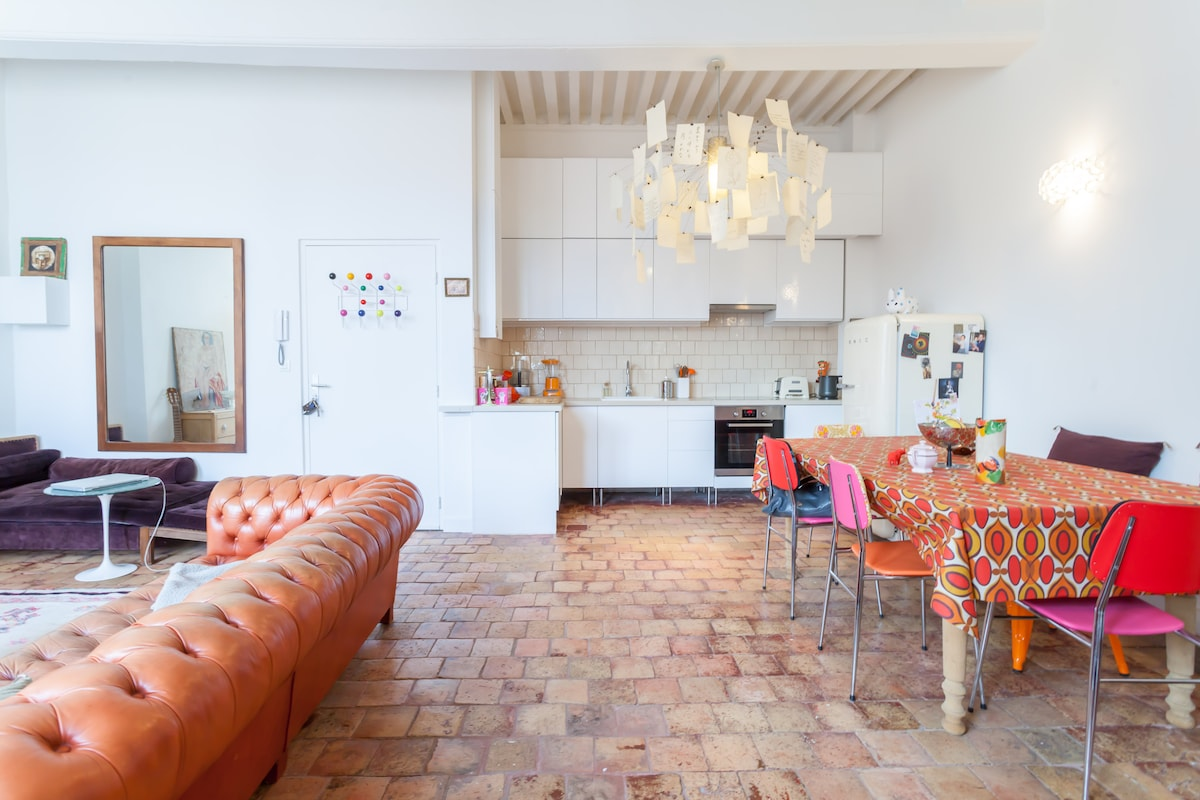 Lovely, quiet and bright apartment