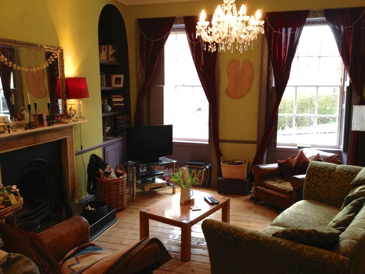 Elegant but homely Living Room