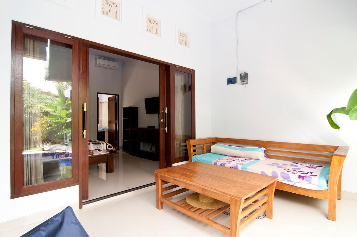 3BR Villa Arjuna. Seminyak. Bali