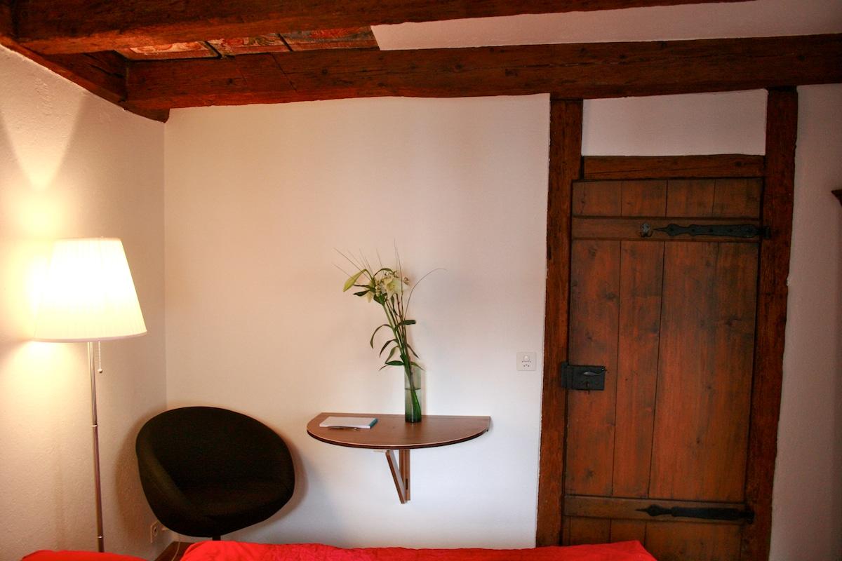 a quiet corner to sit!
