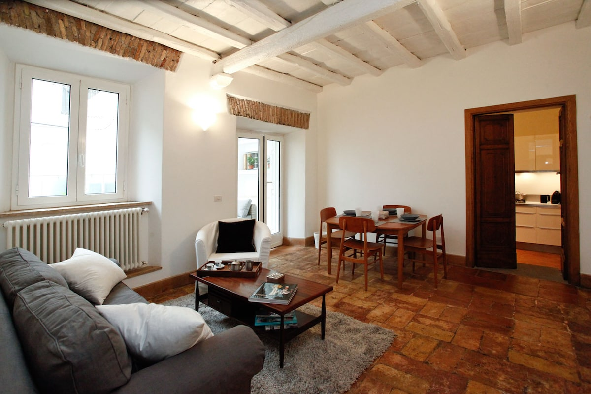 Trastevere luxury apt. with patio