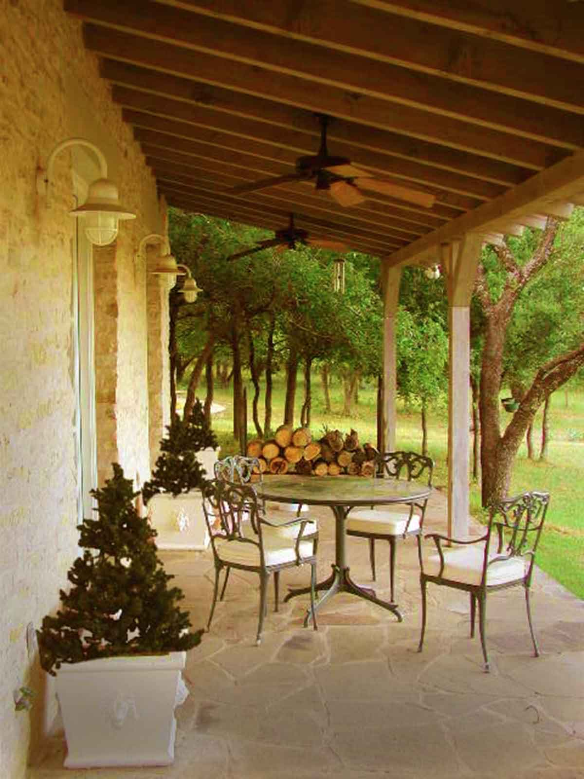 Front Veranda - A Great Place to Relax and Enjoy the Views