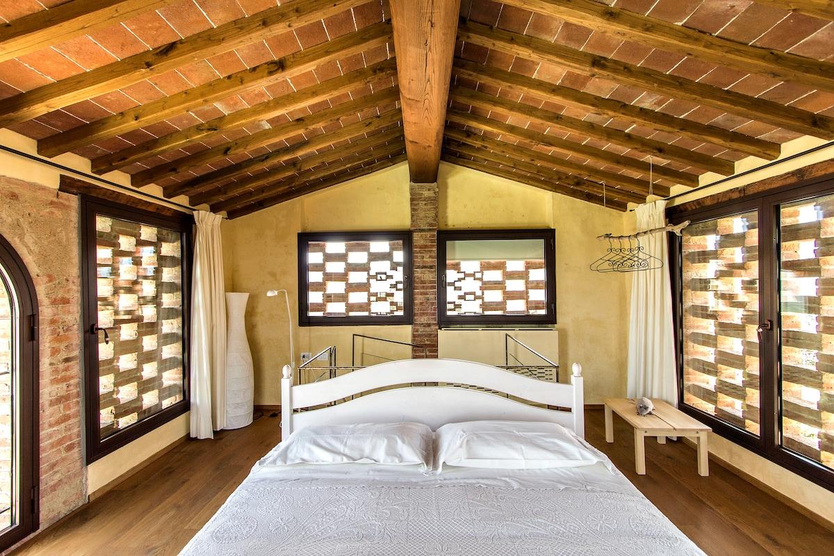 Il Fienile: Bedroom: Camera da letto