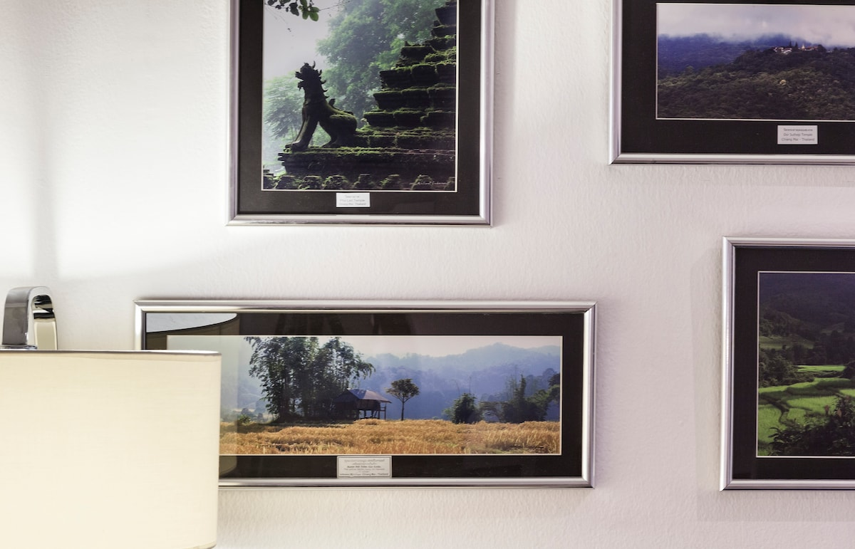Photos of Chiang Mai as wall decoration for living room