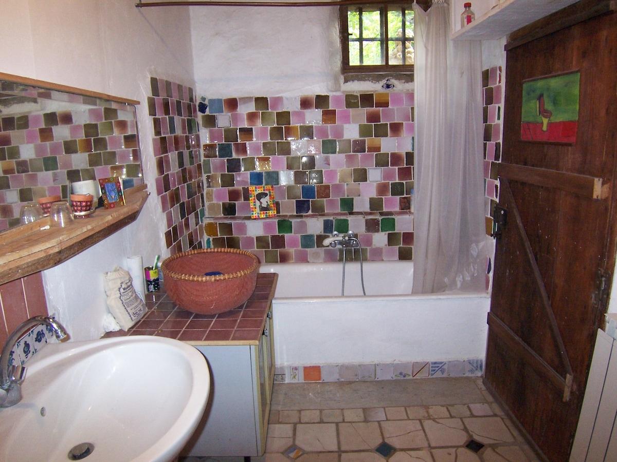 La salle de bain et toilette