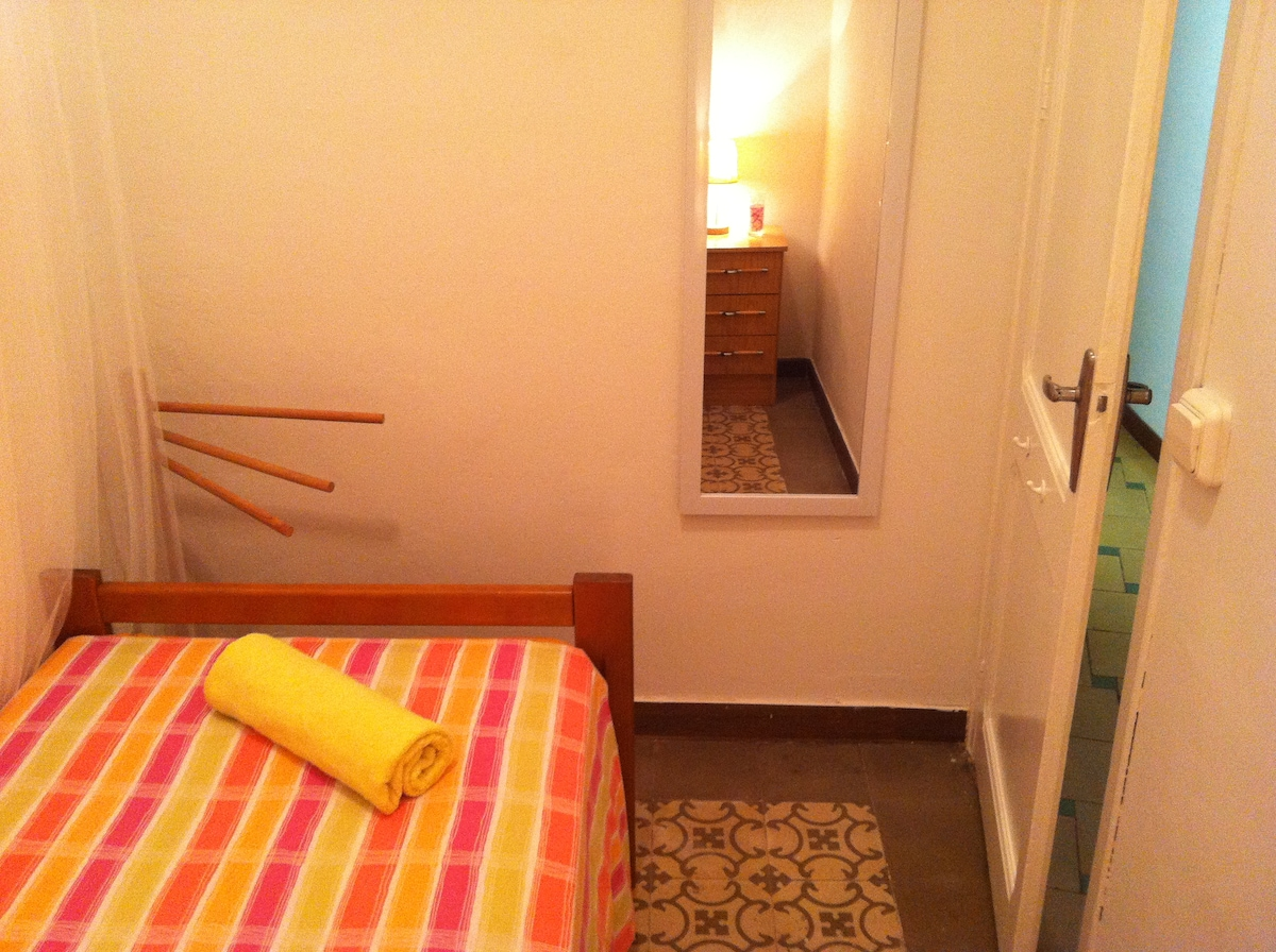 Little♡single room to rest in BCN