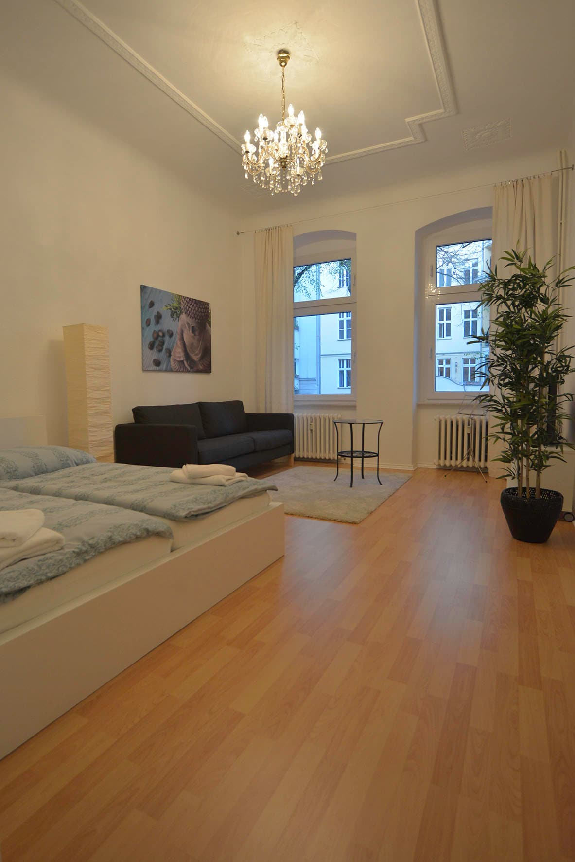 Cosy and quiet city apartment for 2