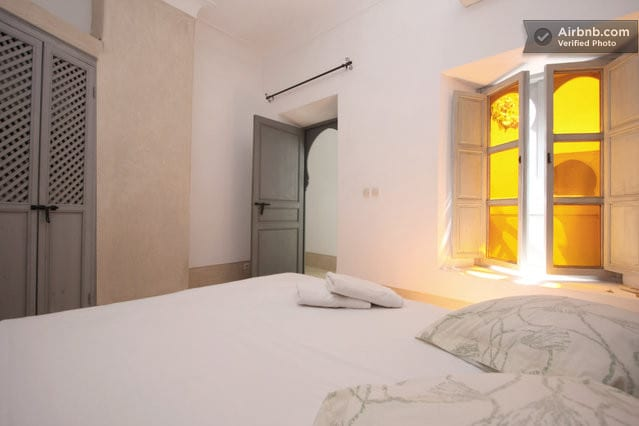 Marrakech riad Aladin room