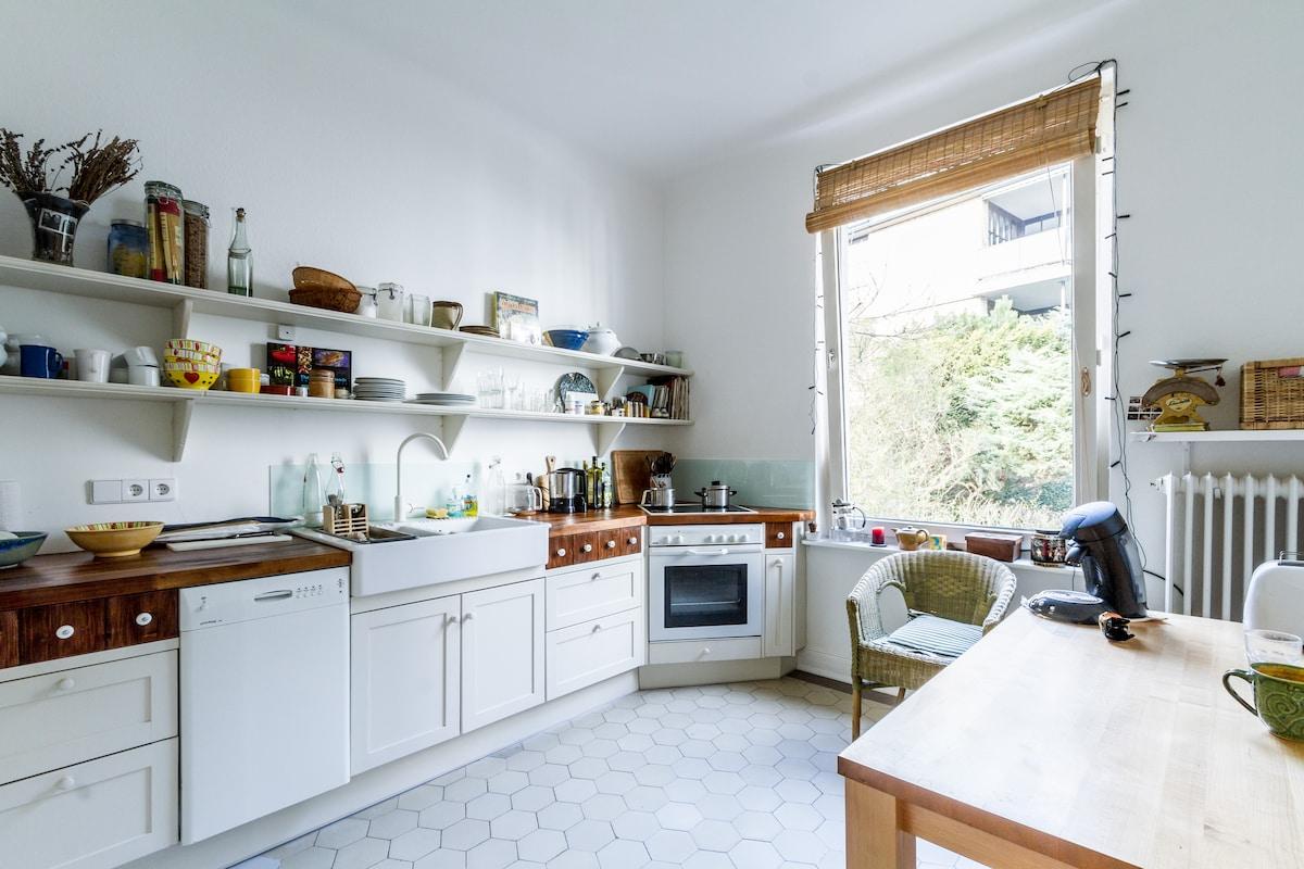 Wunderschönes Zimmer mit Elbblick - Apartments zur Miete in Hamburg