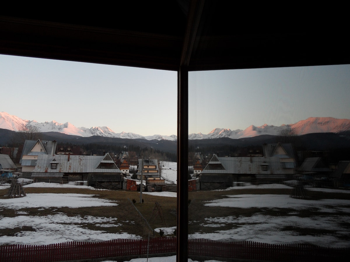 Room with beautiful view for TATRA