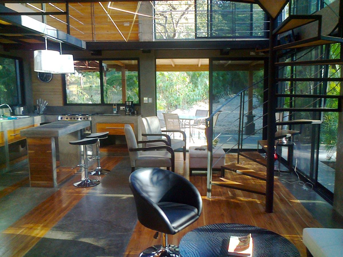 Elegance & design  at Casa David Nosara