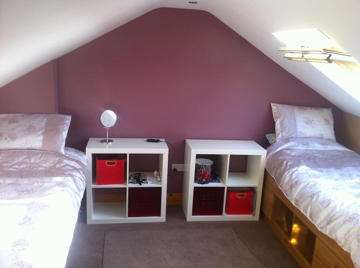 Beautiful spacious share room