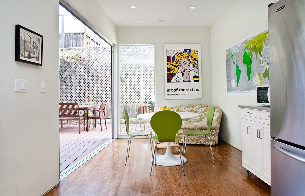 Lovely and spacious Noe Valley home