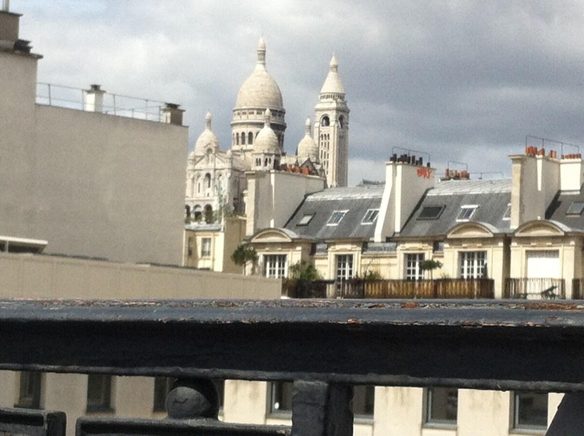 Un balcon sur le Sacré Coeur !