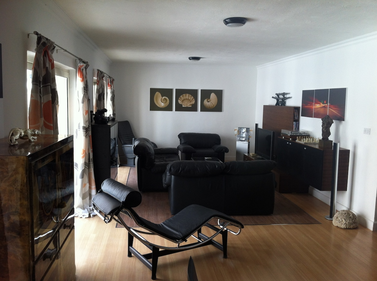 Our shared sitting room