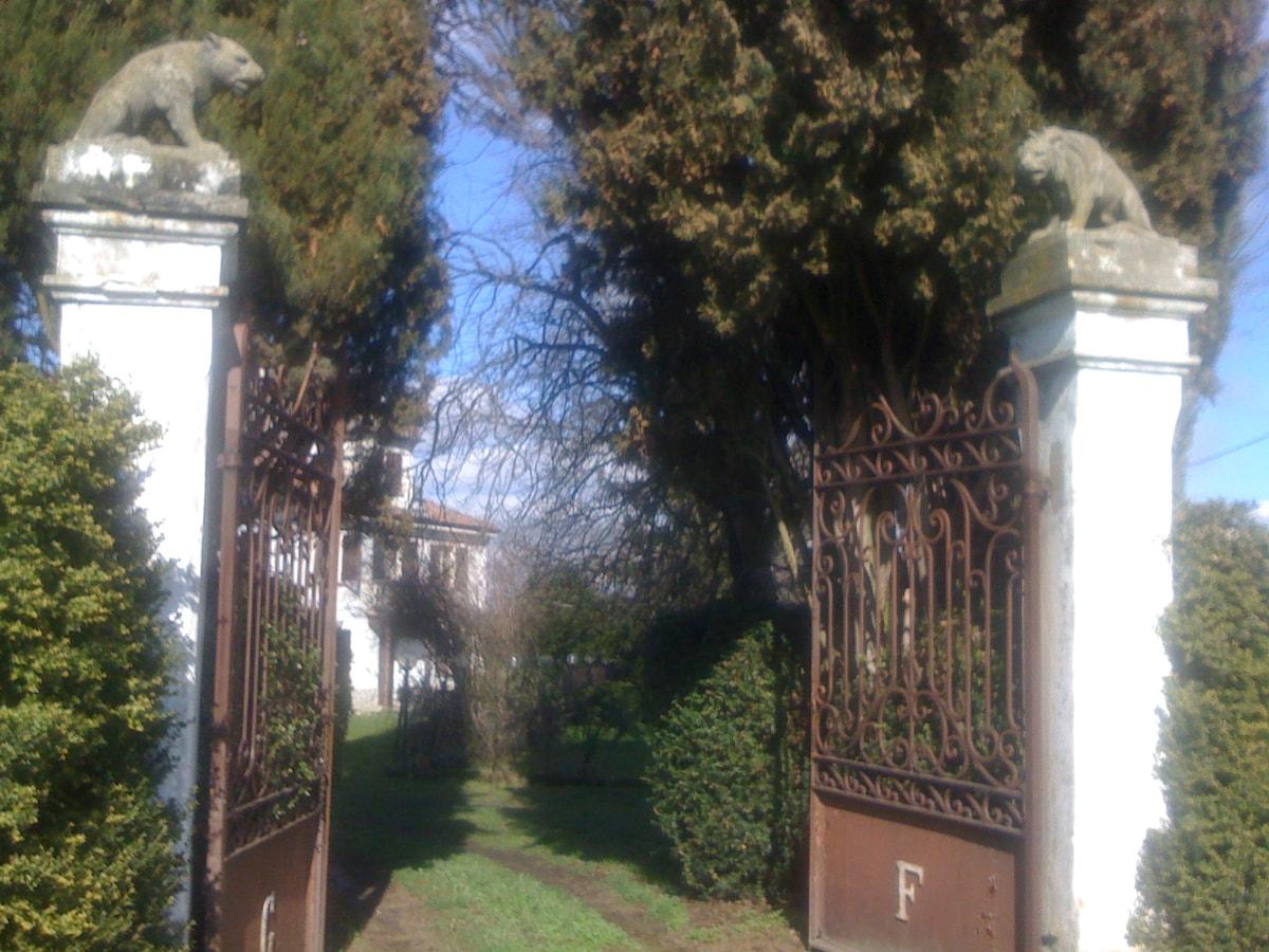 Relax in an old Piemontese villa