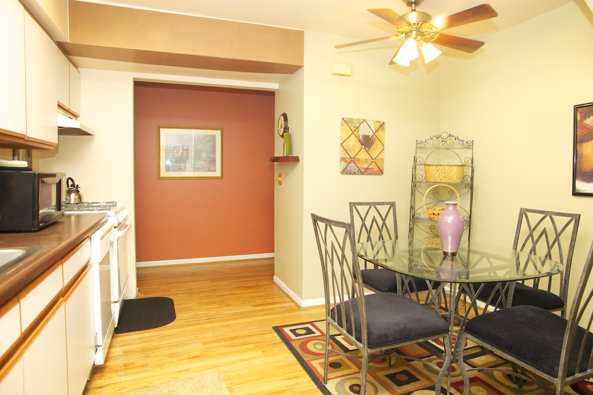 Furnished 2 BD /2 Bath Duplex: OD2F