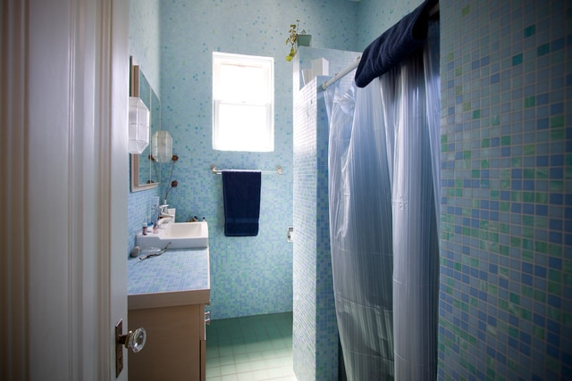 The shower has a lovely water pressure and was designed to be reminiscent of the tropics.