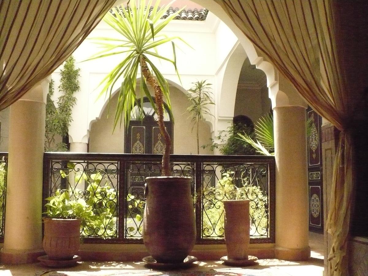 Riad Bamaga, historic district.
