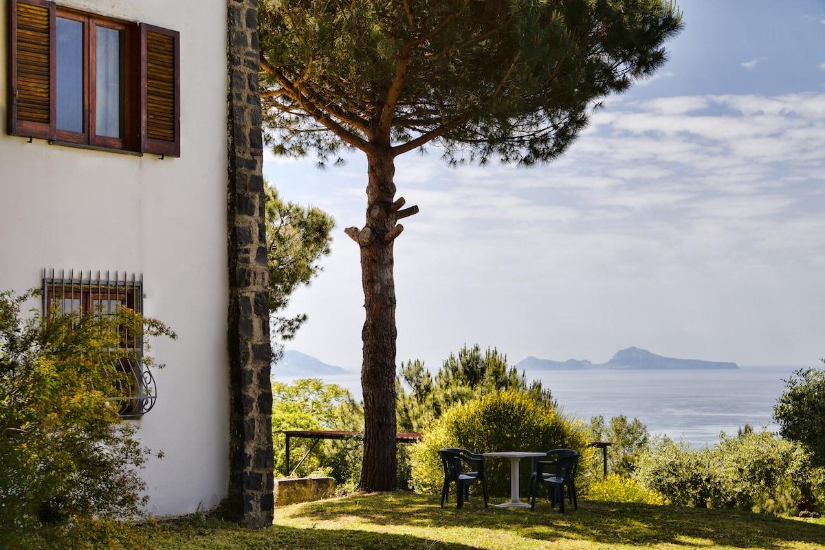 Pompei Capri the view from Vesuvius