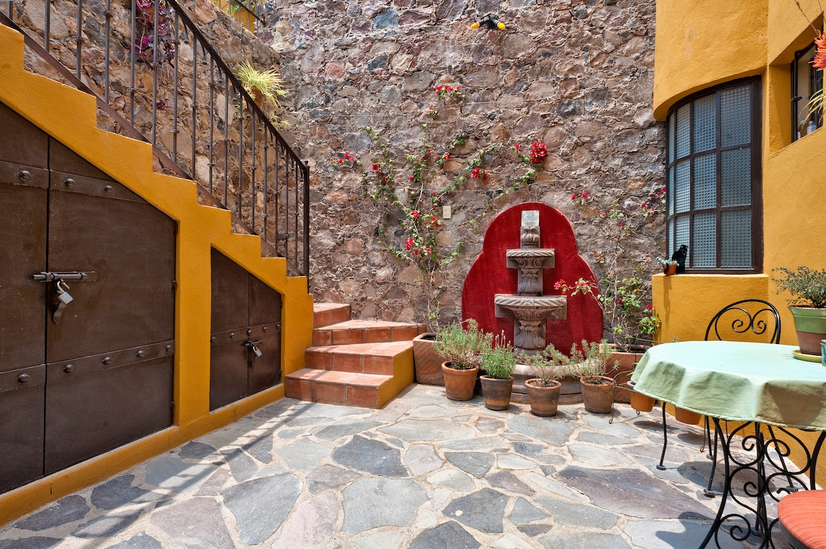 Staircase Leading to Second Floor Casita