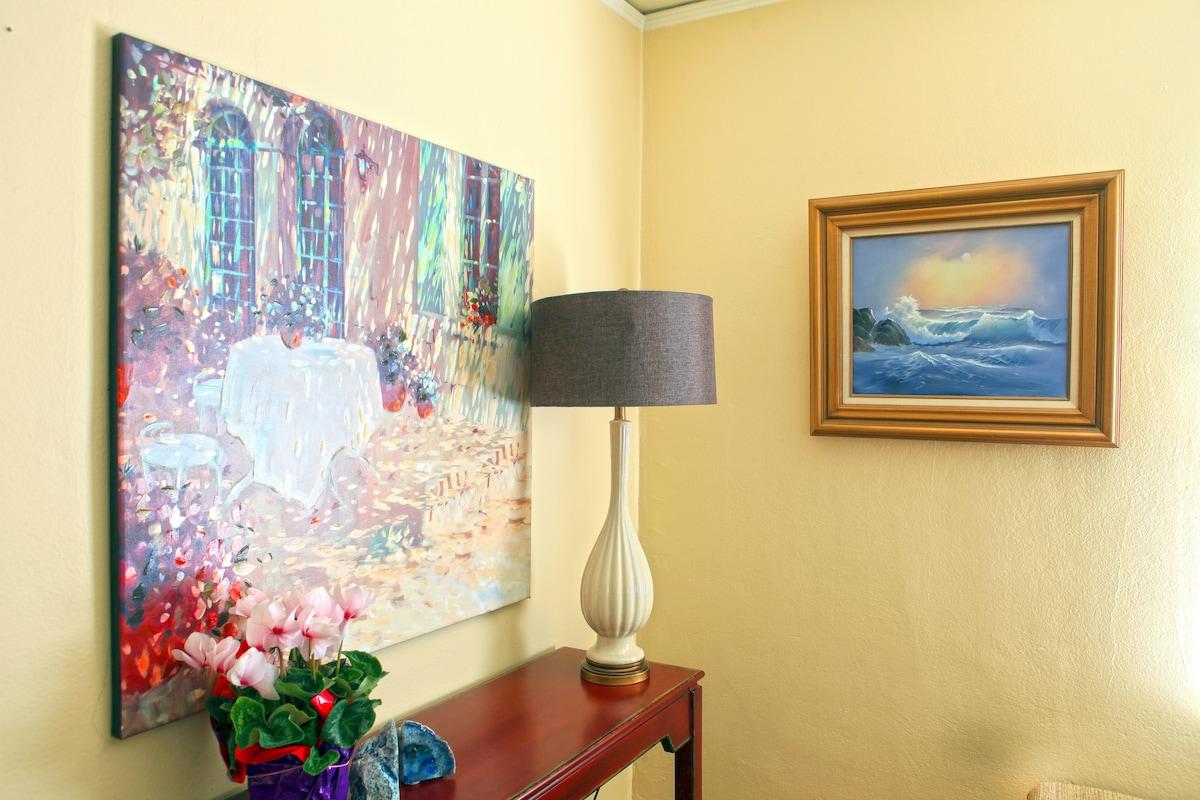 NW Nob Hill Serene City Bedroom