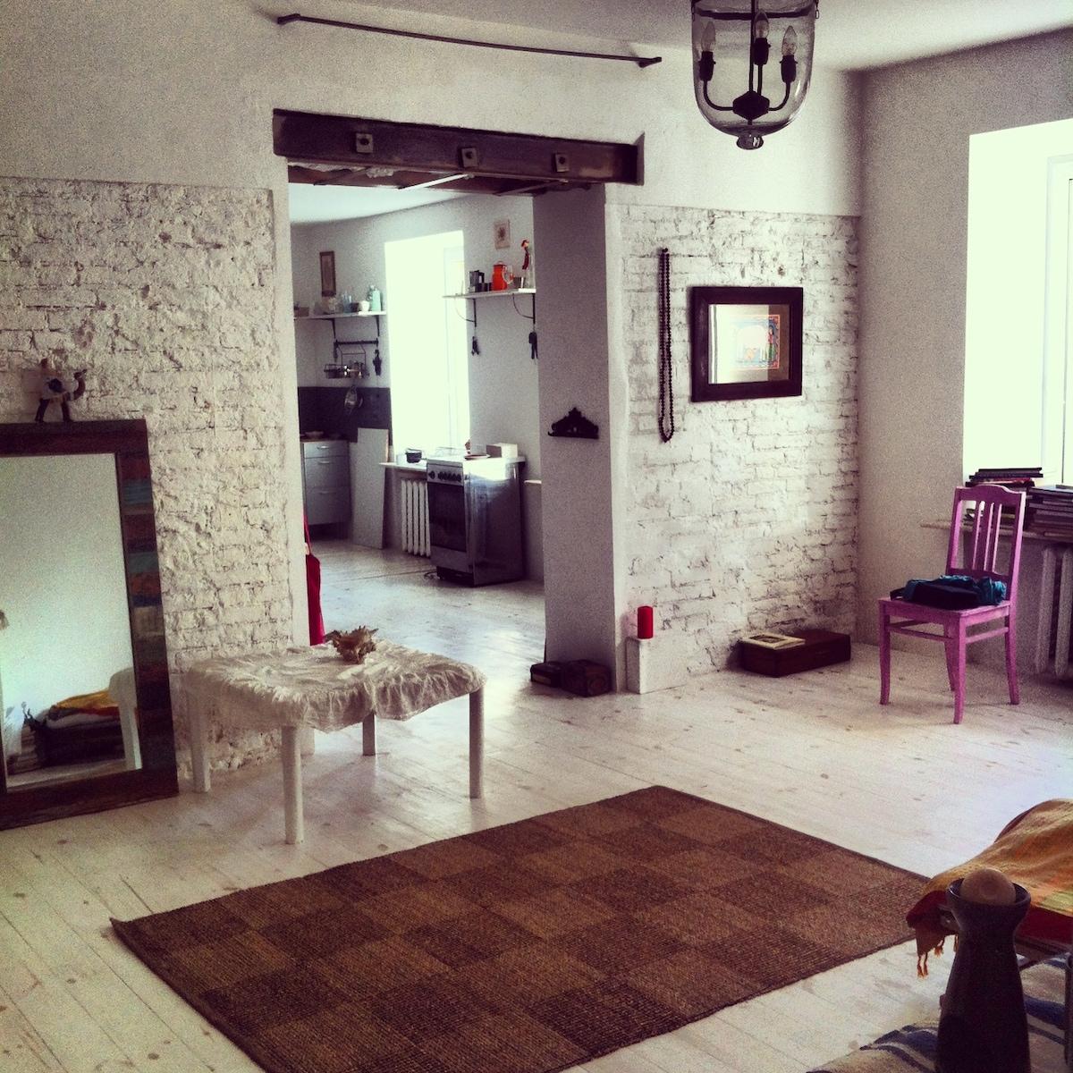 102m studio-apart in the center SPb
