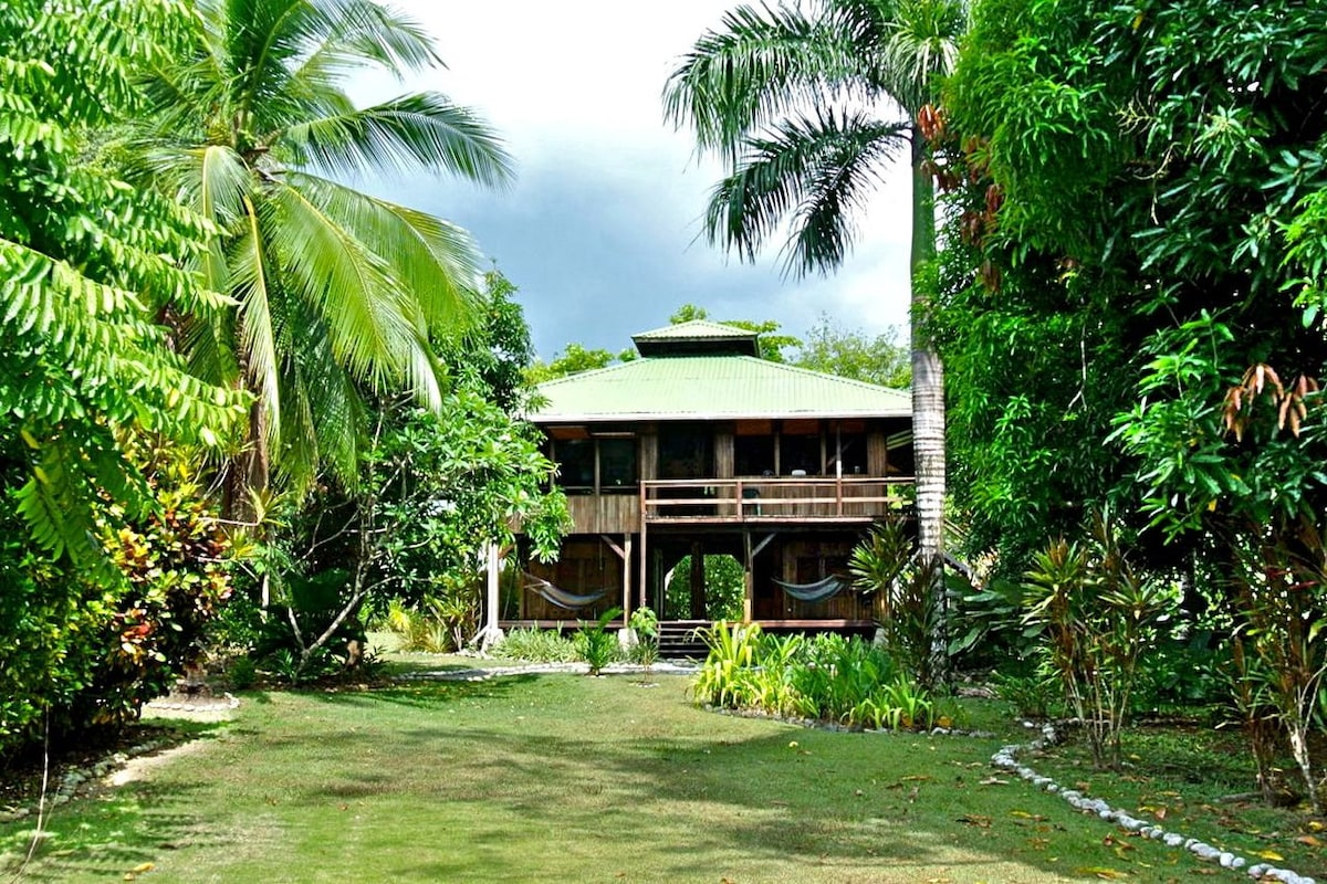 Come to Casa Dos Rios, to discover the rainforest, enjoy beachfront and have room for the whole family!